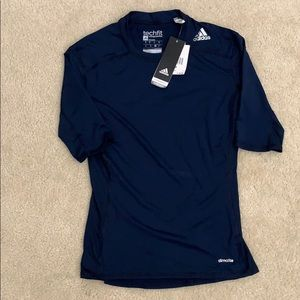 Men's Adidas compression tech fit shirt